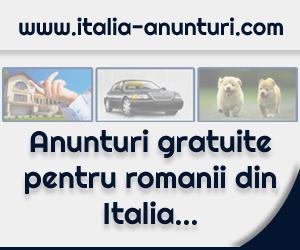 Anunturi online dedicat romanilor din Italia
